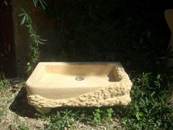 Bac de fontaine extérieure