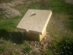 Cadran solaire au sol