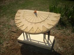 Cadran solaire sol